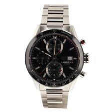 Tag Heuer Carrera Calibre 16 Steel 41 mm Automatic Watch CBM2110.BA0651 Complete