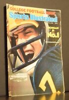 Sports Illustrated Magazine College Football Issue September 6 1976