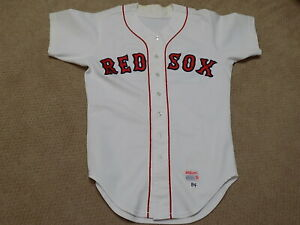 Dennis Oil Can Boyd Game Worn Jersey 1984 Boston Red Sox