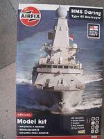 HMS Daring Typ45 Schiff  1:350 Plastikbausatz NEU incl. Farben Pinsel Klebstoff