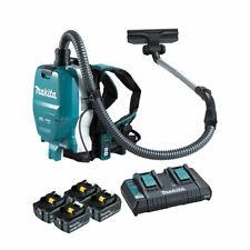 Makita DVC261X 36V (18Vx2) Li-ion BRUSHLESS Backpack Vacuum, 3 Speed, Cordless