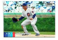 ANTHONY RIZZO Chicago Cubs  2020 Topps Stadium Club Chrome Refractor