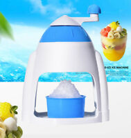 Ice Maker Crusher Machine Crushed Shaved Bar Kitchen Home Party Snow Shaver New