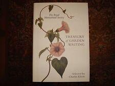 The Royal Horticultural Society Treasury of Garden Writing Charles Elliott