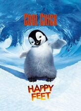 Happy Feet movie poster - Penguin poster - 12 x 17 inches