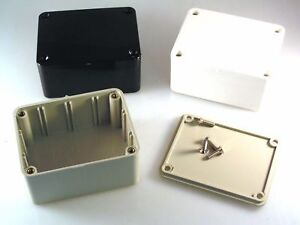 ABS Plastic Box MB1 Electronic Project 80mm x 62mm x 40mm British Made OL0649