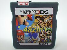 482 in 1 Game Games Cartridge Multicart For Nintendo DS NDS NDSL NDSi 2DS 3DS