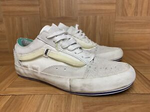 RARE🔥 Vans Old Skool LX Vault Marshmallow Off-White Deconstructed Shoes Sz 8