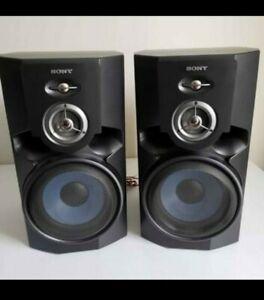 Sony Shelf Speakers SS-MG510AV 8Ohm Home Audio Stereo System Speakers WORKS