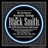 Blacksmith pro Corde per Chitarra Acustica Bronzo extra Custom Leggere 10s 11s