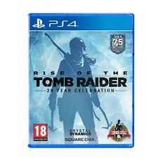 PlayStation 4 Rise of The Tomb Raider -20 Year Celebration Edition by Square Enix