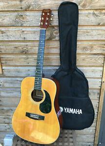 Vintage HOHNER WESTERN MW400N Korea Dreadnought Acoustic Guitar & Yamaha Case70s
