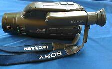 Sony Video 8 Handycam CCD-FX430  NTSC Camera Parts Repair DC 6V *NO BATTERY 12X