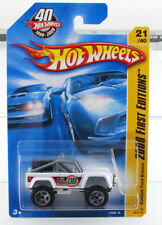 Hot Wheels 2008 First Edition 21/40 Custom Ford Bronco Mint Car From Case