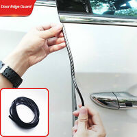 5M Car Side Door Edge Guard Defender Protector Trim Guard Protection Strip Black