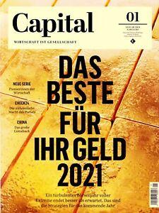 Magazin ◕◕◕ CAPITAL  01 / 2021 ◕◕◕ Wirtschaft Politik Gesellschaft ◕◕◕ Lifestyle