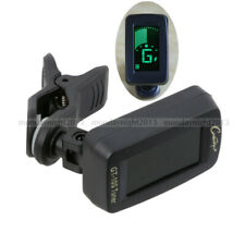 Mini Clip On Digital Tuner GT-10S For Acoustic Electric Guitar Bass Ukulele