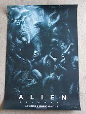Original Alien Covenant IMAX limited mini promo poster Ridley Scott, Fassbender