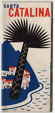 1939 SANTA CATALINA ISLAND California TRAVEL Tourism BROCHURE Booklet AVALON CA