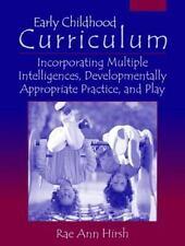 Early Childhood Curriculum: Incorporating Multiple Intelligences, Developmentall