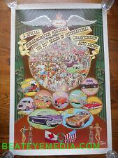 ROBERT WILLIAMS-POSTER-COMIC ART-COMIX-HOT ROD-RAT FINK-ED ROTH-CAR-robert crumb