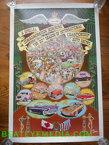 ROBERT WILLIAMS-POSTER-COMIC ART-COMIX-HOT ROD-RAT FINK-ED ROTH-CAR-robert crumb