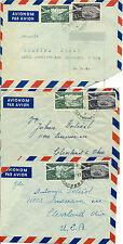 Yugoslavia Serbia Croatia  8 cover letter airmail tax bank document
