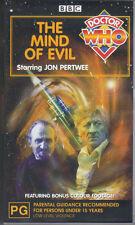 "Doctor Who - ""The Mind Of Evil"" VHS PAL sealed"