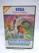 SEGA Master System - Wimbledon (mit OVP / OHNE ANLEITUNG) 10633335