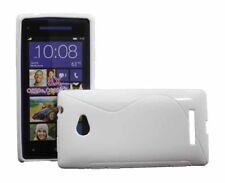 Rubber Case Wave für HTC Windows Phone 8X in weiß Handy Tasche Hülle Cover