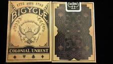 Bicycle colonial unrest Deck Limited Edition poker jeu de cartes