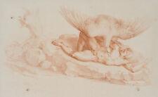 N. MICHELANGELO (1475), Der gefesselte Prometheus mit dem Adler, Crayonman.