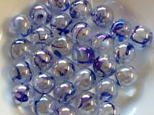 25 VAPOUR GLASS MARBLES COLLECTABLE 16mm traditional game play trade party bag