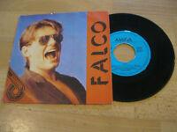 """7"""" Single Falco Rock me Amadeus  Vinyl Amiga Quartett 5 56 155"""