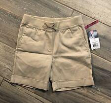 Izod Schoolwear Girls Exclusive Comfort Waist Knit Waist Stretch Shorts 8 Nwt