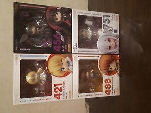 Nendoroid Chitoge, Emilia, Marika and Devil Homura