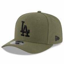 Los Angeles Dodgers New Era MLB Pod Pre-Curved 9FIFTY Snapback Hat - Olive