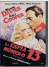 La espia número 13 (v.o. Inglés) (DVD Nuevo)