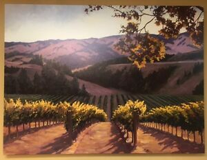 "Susan Hoehn ""Sunlit Vines"" SOLD OUT Lt Edit.s/n stretched canvas"