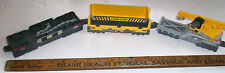THREE (3) Freight Car CATERPILLAR CAT Toy Train Car Set Pcs by TOY STATE - CHEAP