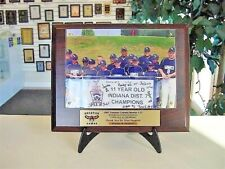 Photo Sponsor Plaque Team Picture Baseball Basketball Any Sport Free Lettering*