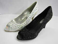 Spot On Slim Textile Shoes for Women