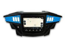 2017 Polaris XP1000 Ride Command 2 piece Dash Panel Set CNC Blue