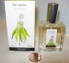 FRAGONARD VERVEINE VERBENA Perfume 15 ML SPRAY EDT UNISEX LEMON PEEL CAMOMILE