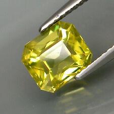 2.16 ct. Natural Lime Yellow Apatite Brazil Perfect Shape