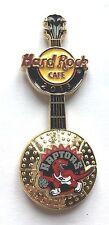 Hard Rock Cafe Pin Badge NBA BasketBall 3D Logo Guitar - Toronto Raptors