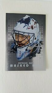 Patrick Roy 2008-09 Between the Pipes Masked Men MM-22 Colorado NMMT or better