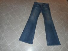 BIG STAR SWEET LOW BOOT BLUE JEANS WITH STITCHING SIZE 3O XL INSEAM 35 INCHES