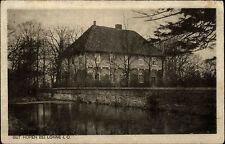 Lohne Oldenburg Niedersachsen s/w AK ~1920/30 gelaufen Blick auf das Gut Hopen