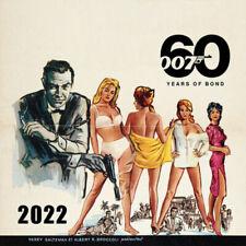 60 Jahre Von James Bond 2022 Kalender - Offiziell Lizenziert - C22004